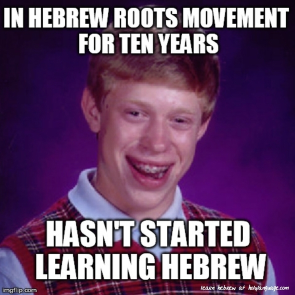 in hebrew roots movement ten years