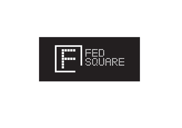 Fed Square Corporate Logo- External Use Reverse version