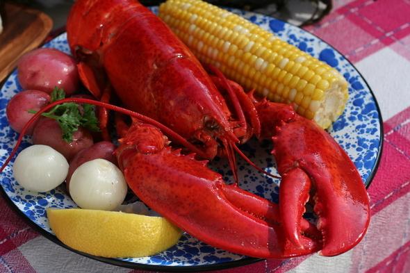 Lobster Plate Jim Dugan