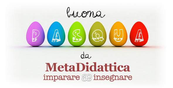 banner newsletter metadidattica pasqua 2014