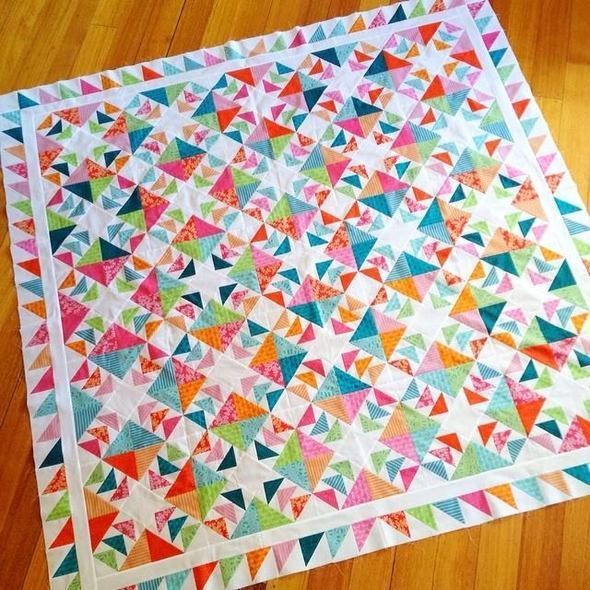 Flying South Quilt Top