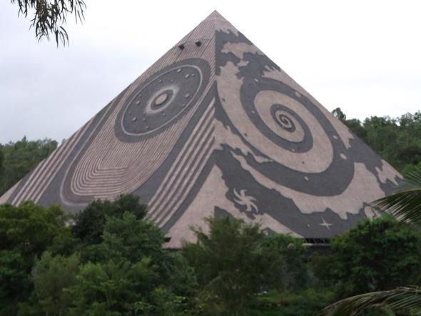 maitreya buddha pyramid