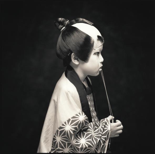 Watanabe Hiroshi Yuki Nonaka  Matsuo Kabuki Kabuki Players 2003
