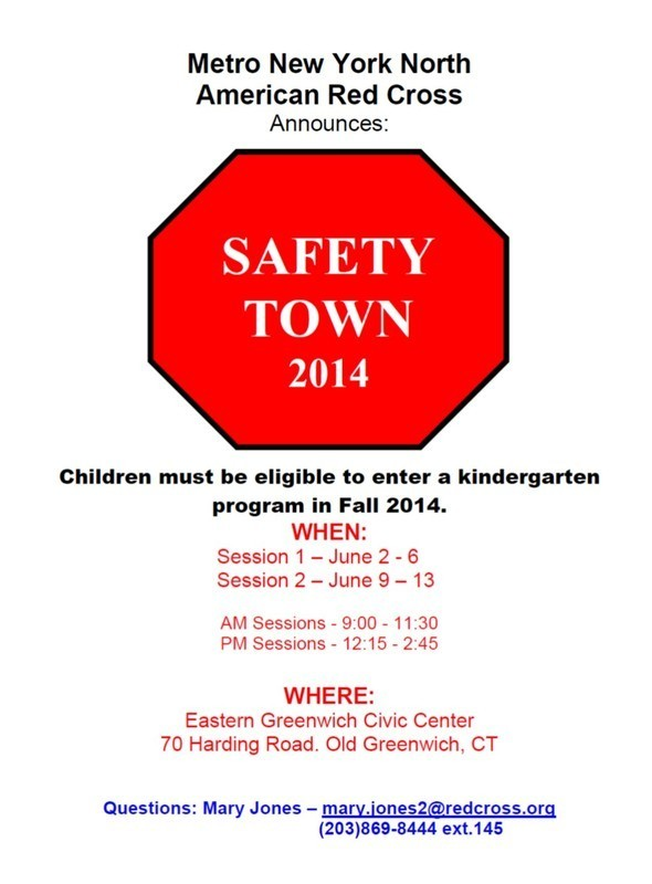 Safety Town 2014 Stop Sign Flyer - FINAL