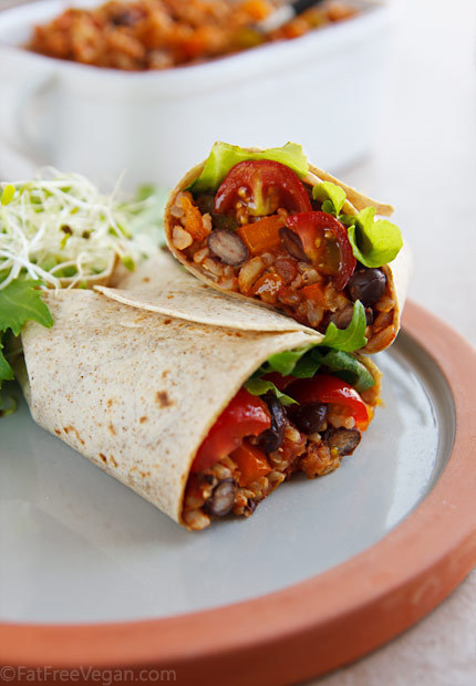 spanish-rice-burritos