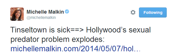 Michelle Malkin Tweet 050814 06