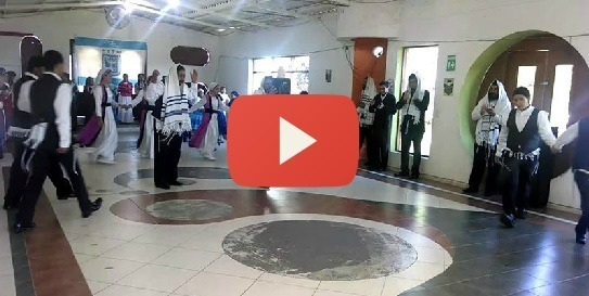 Jewish Dancing Like You Have Never Seen Before