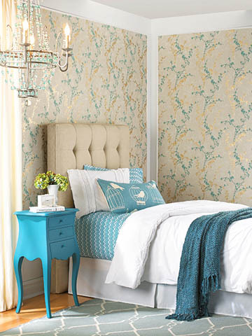 York Wallpaper Botanical Fantasy Collection Spring Decor
