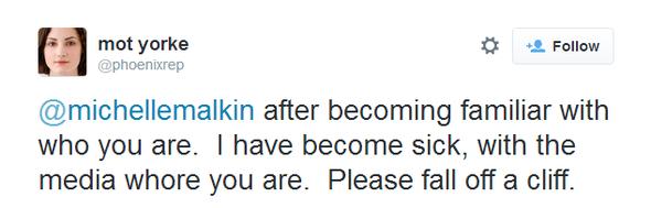 Malkin Hate Tweet 050914