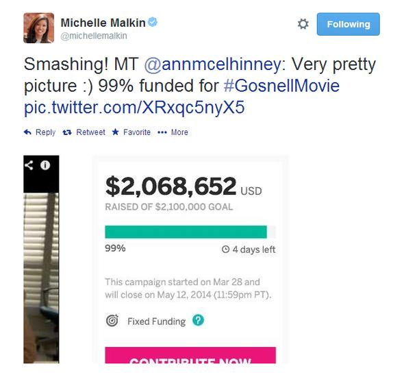 Michelle Malkin Tweet 051214 02