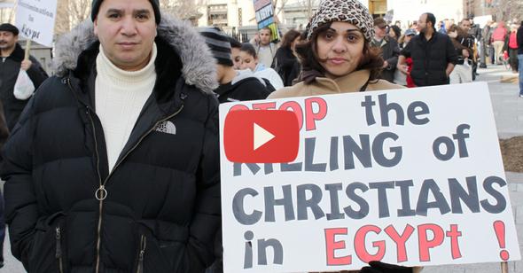 Egyptian-Christians-protest-White-House