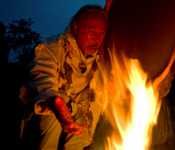 Uncle fire ceremony