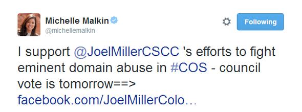 Michelle Malkin Tweet 051314 10