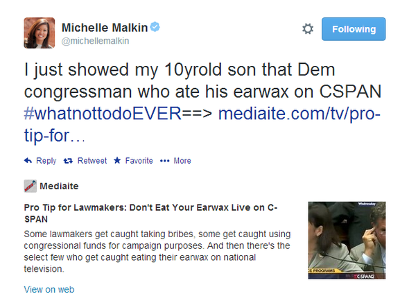 Michelle Malkin Tweet 051414 09