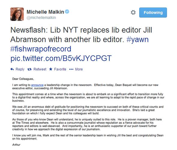 Michelle Malkin Tweet 051514 09