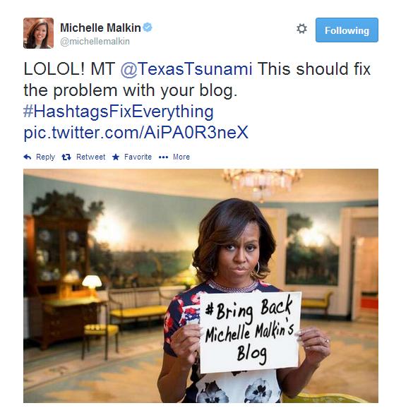 Michelle Malkin Tweet 051514 13