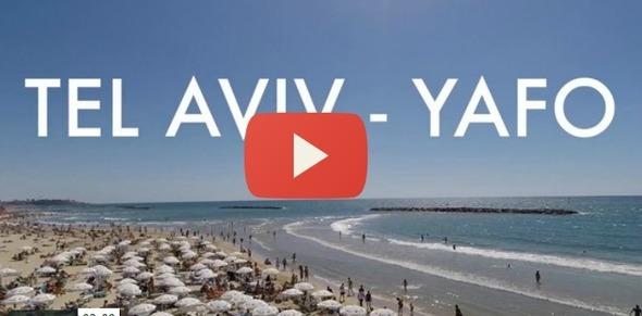 Beautiful Tel Aviv  Yafo From the Air