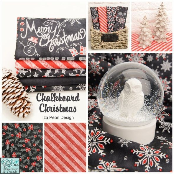 Chalkboard Christmas Poster