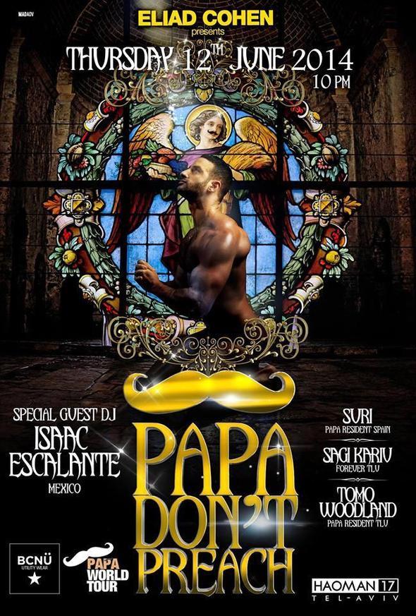 PAPA TLV 2014 Flyer