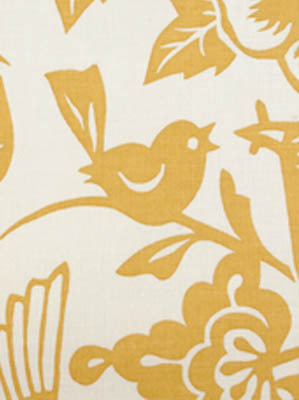 20874 Yellow Bird Fabric