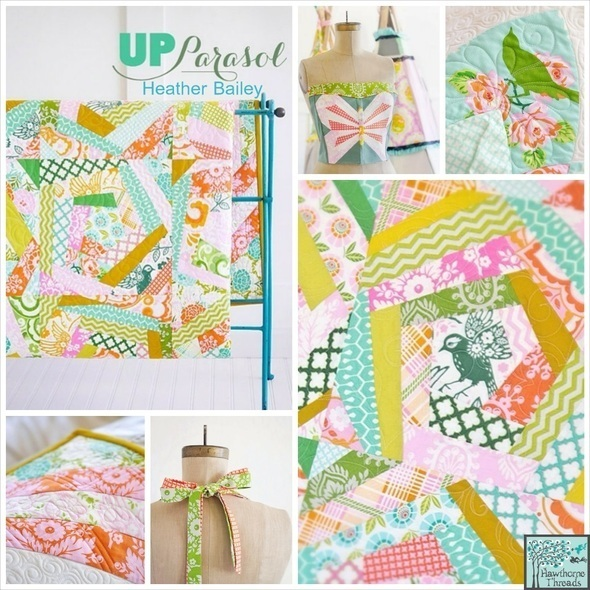 Up Parasol Poster