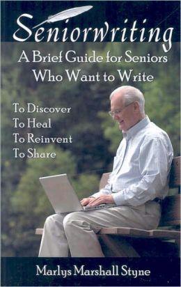 Senior Writing Book Cover