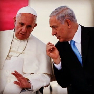 Binyanim Netanyahu and Pope Benedict XVI