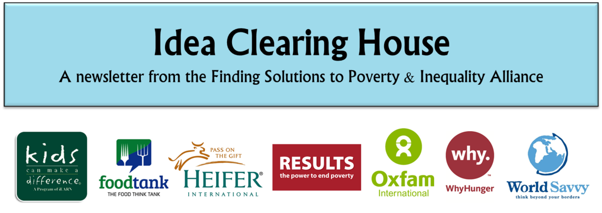 Education Is Surest Path Out Of Poverty >> Idea Clearing House 151