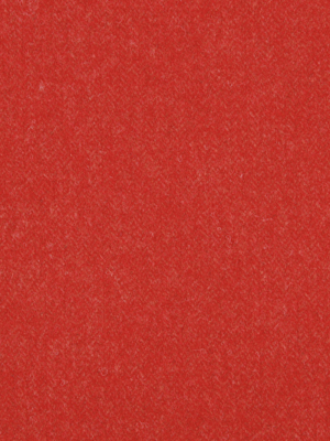Wool Chevron - Lacquer Red