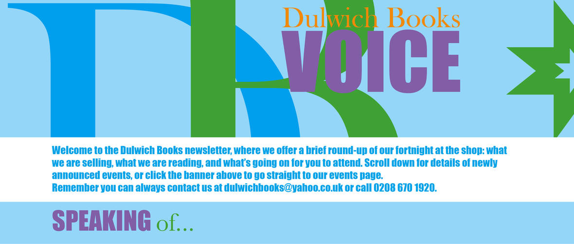 Dulwich Books Voice Header 2