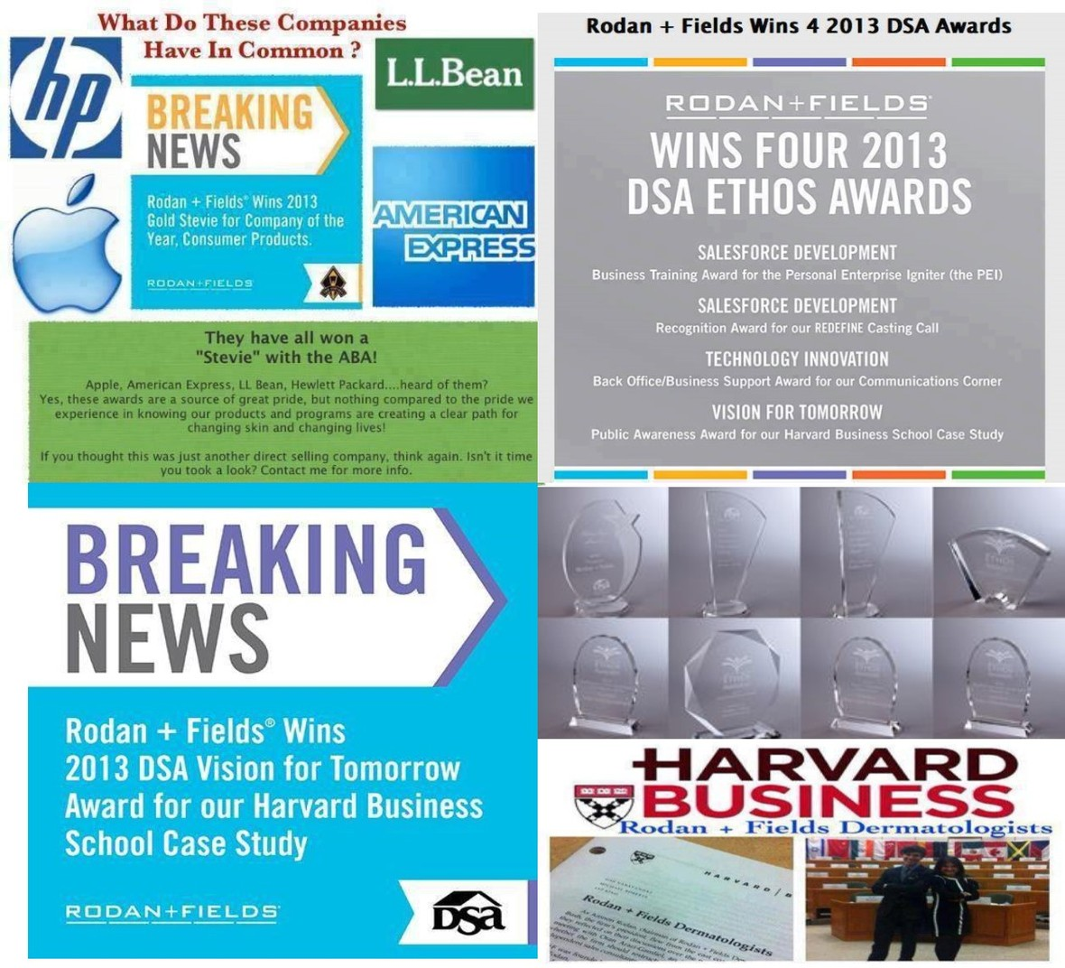 harvard business case study rodan and fields
