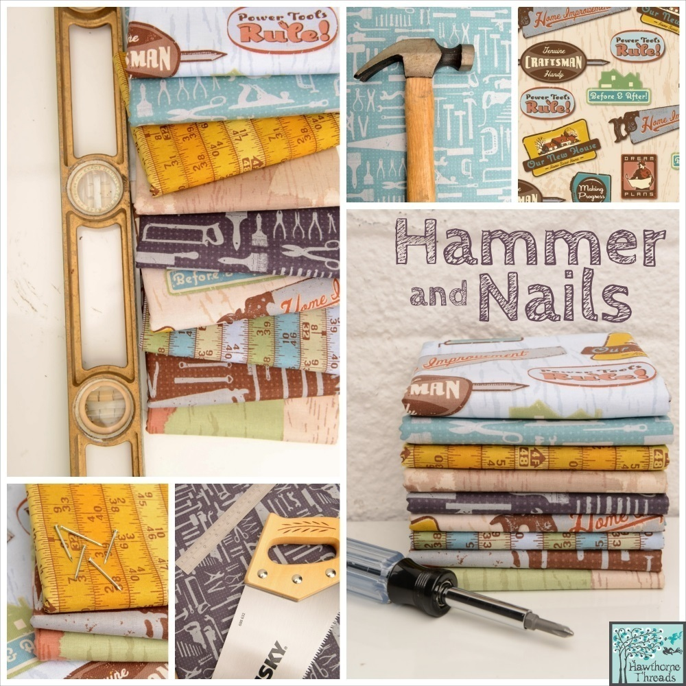 Hammer and Nails Poster