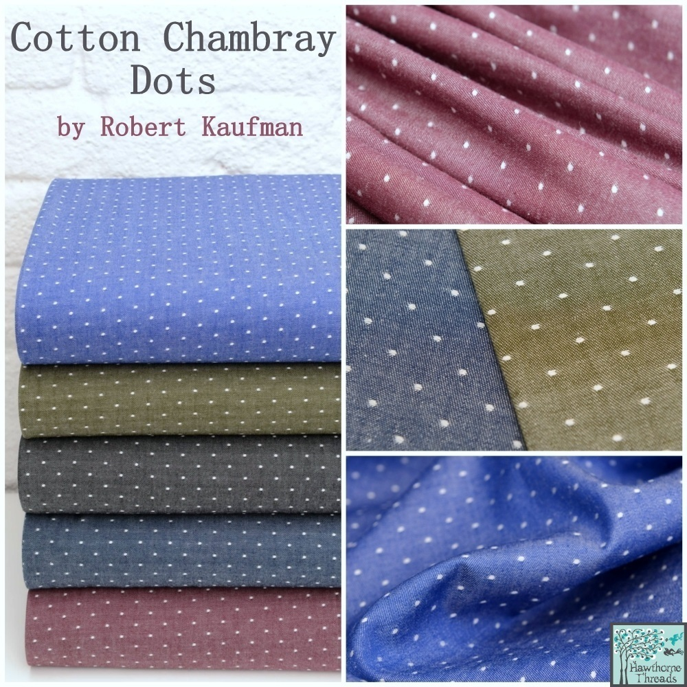 Cotton Chambray Dots Poster 2