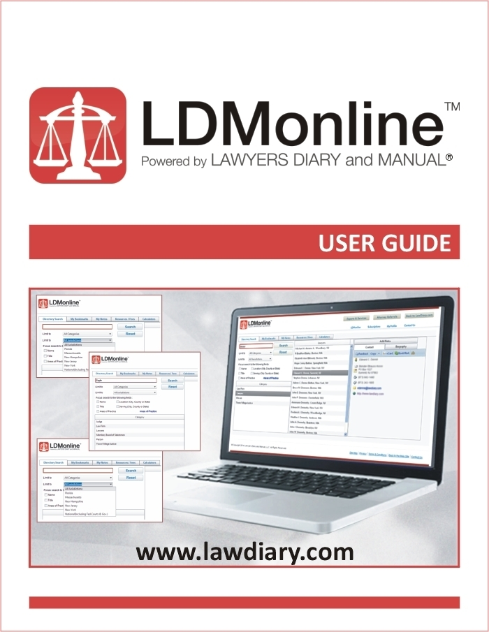 LDMonline User Guide cover