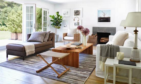 Grey Hamptons Decor