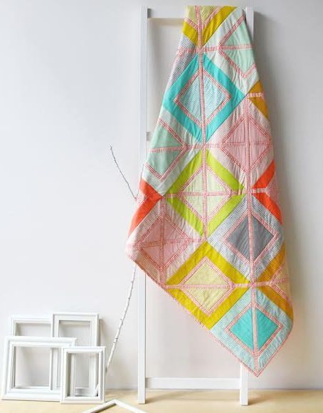 agf studio outside the box quilt kit sewing pattern