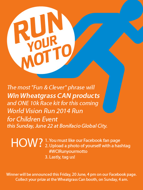 world vision fun run promo
