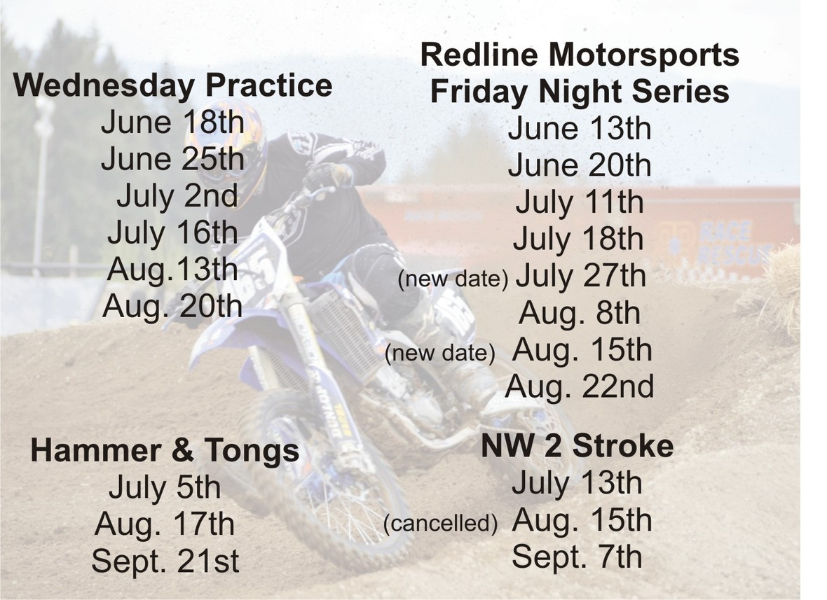 June MX Schedule