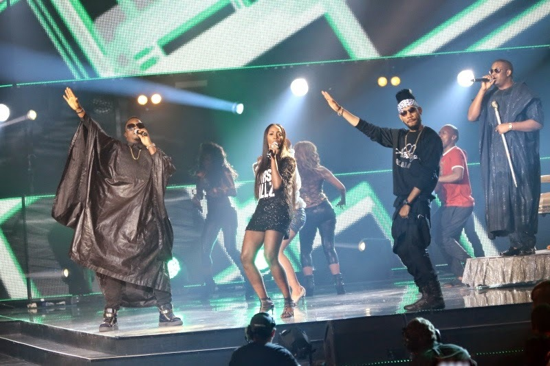 Dr Sid  Tiwa Savage  Phyno and Don Jazzy