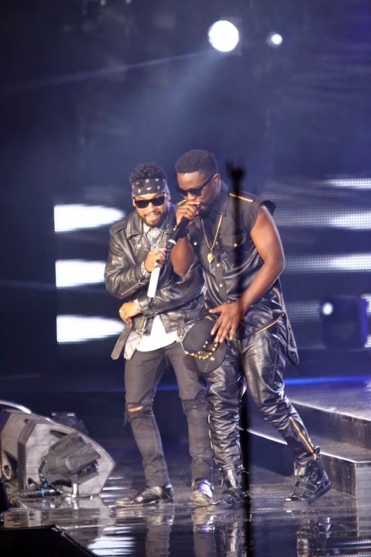 Miguel and Sarkodie