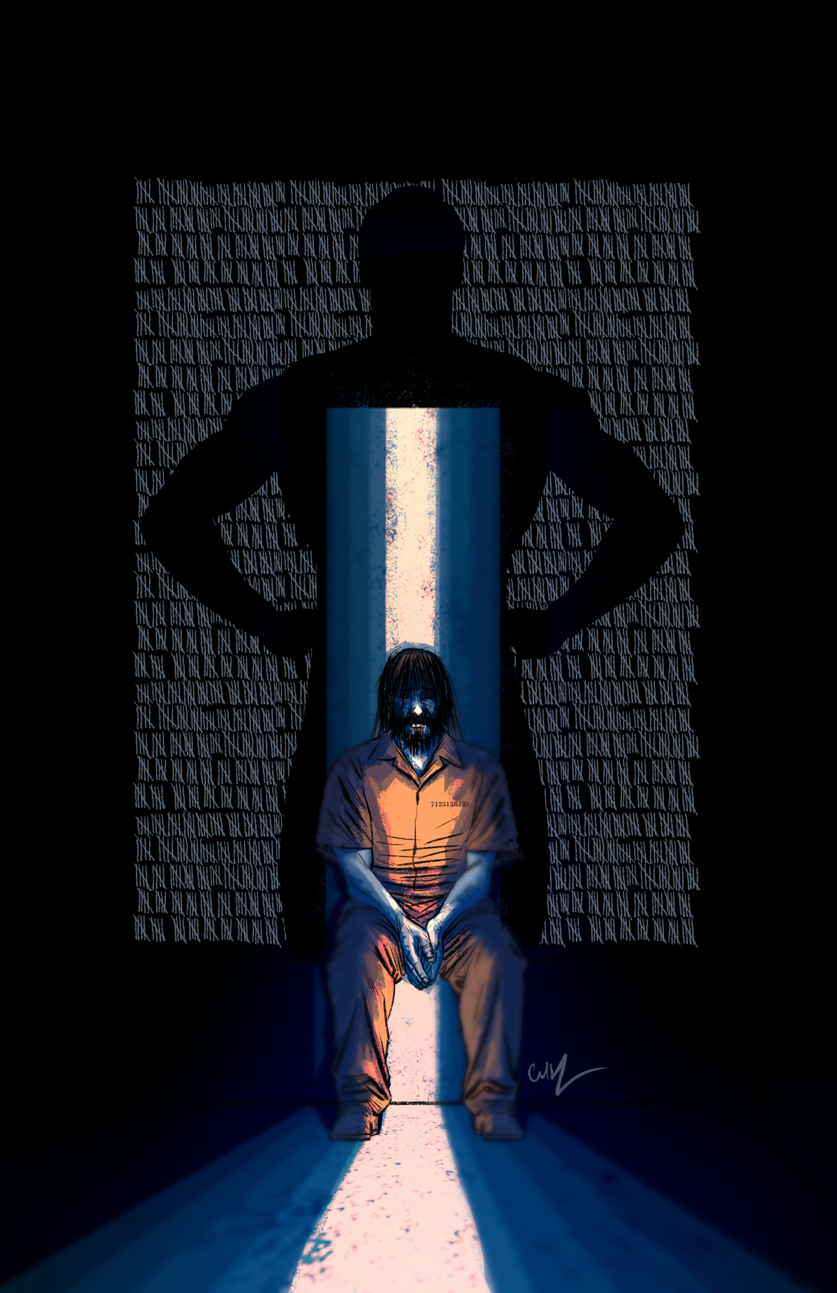 Solitary Issue 2 Cover