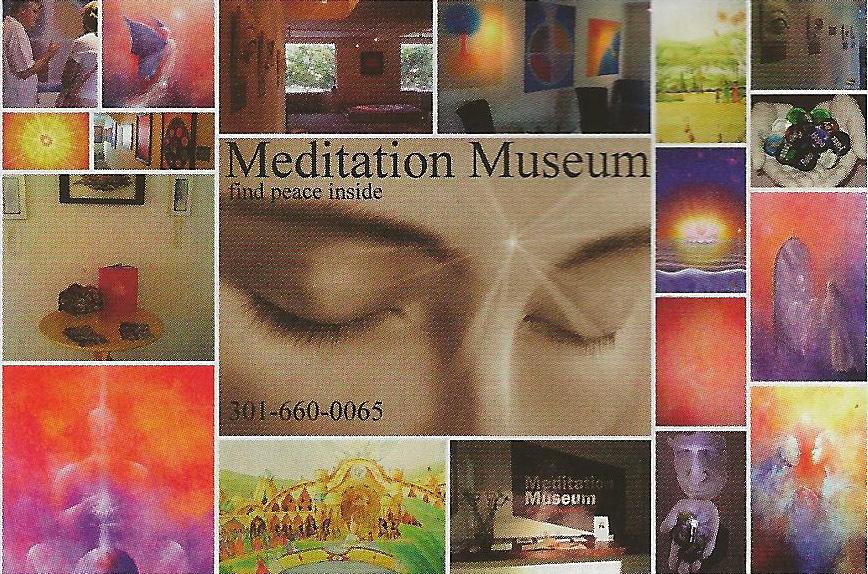 Meditation Museum card