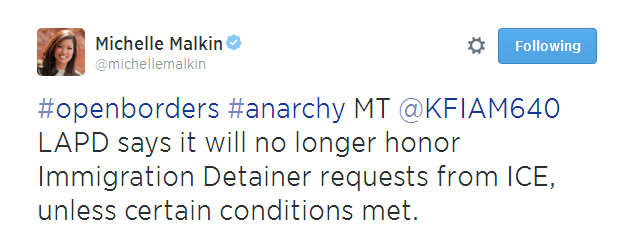 Michelle Malkin Tweet 070814 04