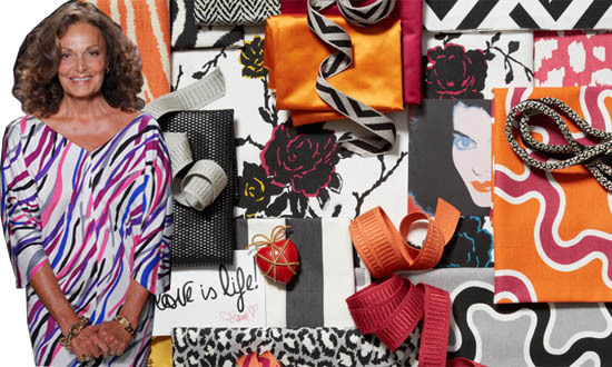 Diane von Furstengberg Kravet Fabric Collection