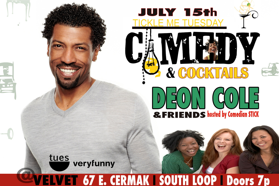 Deon Cole Comedy use this