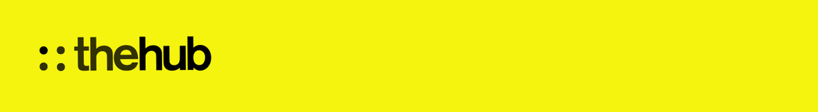 thehub banner yellow
