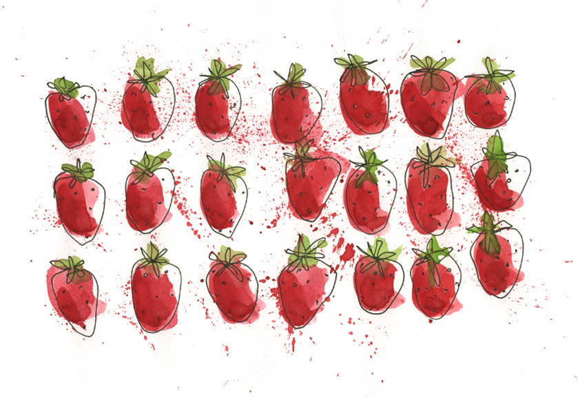 20140701 strawberries
