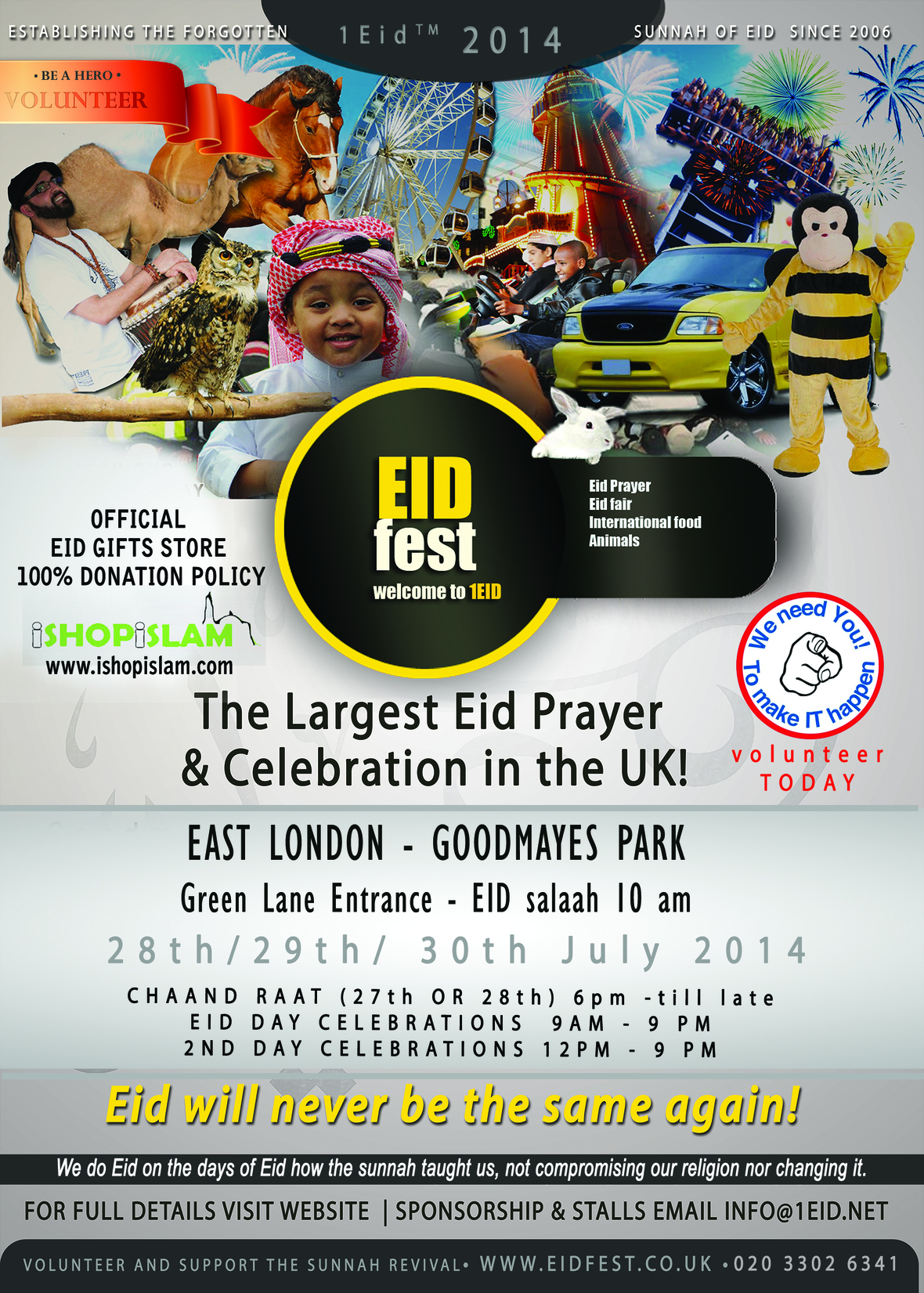 Breaking News - Brent Bans Eid ruining Eid for Thousands