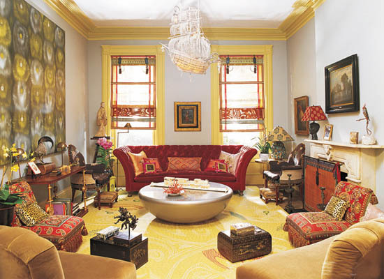 Indian Inspired Contemporary Interior Decor