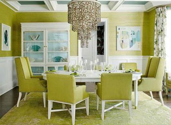 Hamptons Inspired Dining Room Decor